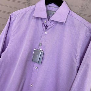 Hickey Freeman Contemporary Fit Dress Shirt Pink